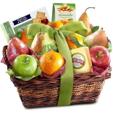 fruit and basket golden state fruit gourmet abundance gift