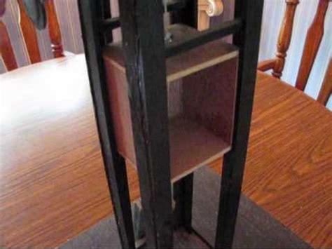 homemade traction elevator youtube