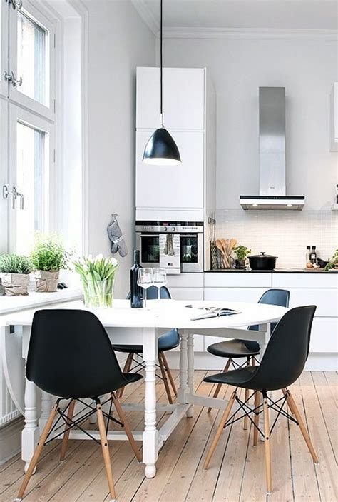 Small Kitchen And Dining Room Design by Scandinavian Kitchens With Small Dining Room