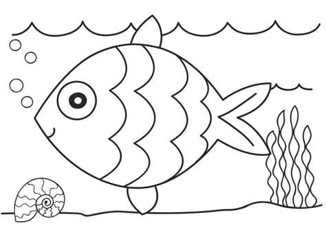 kg colouring pages kindergarten coloring pages fish
