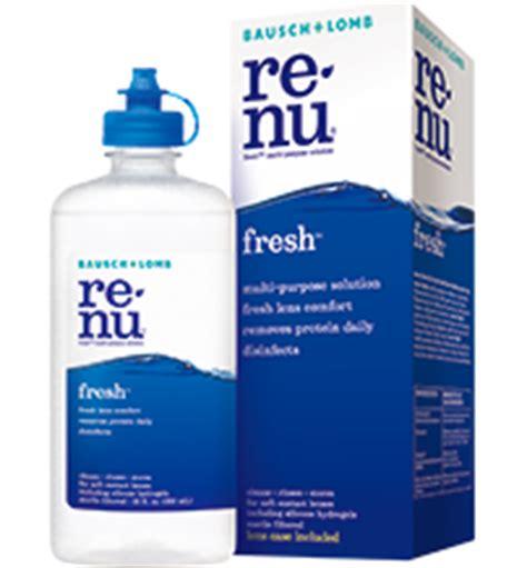 renu fresh multi purpose solution : bausch + lomb