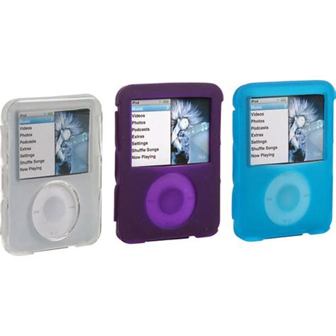 Iskin For The 2nd Generation Nano by Iskin Duo For Ipod Nano 3rd Generation Pack Of 3
