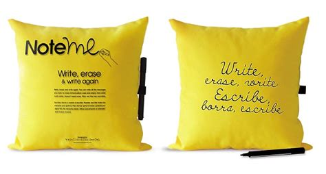 Note Me Pillow by Invention Show Need A Solar Plant Pot That