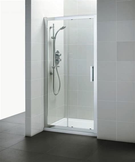 Shower Doors 1200mm Ideal Standard Synergy Slider Shower Door 1200mm L6289eo