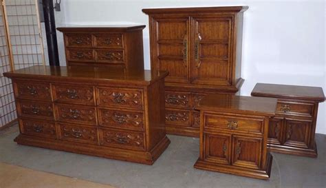 drexel bedroom furniture vintage drexel velero spanish revival bedroom set 101710