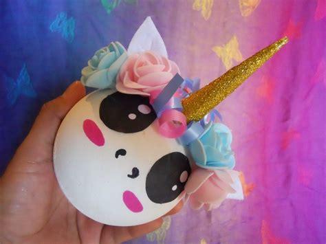 imagenes de unicornios en navidad esferas de navidad diy manualidades