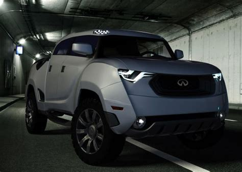 2012 infiniti truck infiniti bx concept is an ominous truck for all