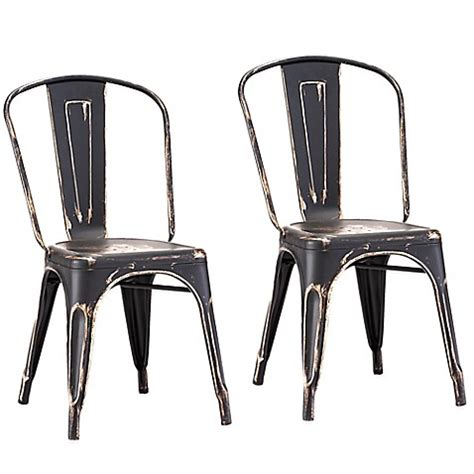 10615 Asma Black Set 2 In 1 buy zuo 174 elio dining chairs in antique black gold set of