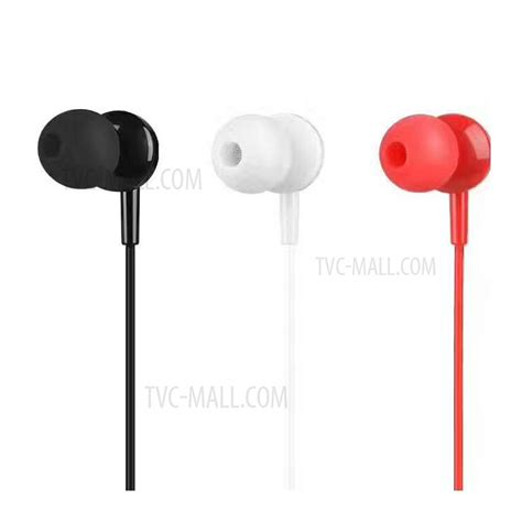 Hoco M14 Earphone With Mic hoco m14 sound universal in ear 3 5mm wired free earphones with microphone black