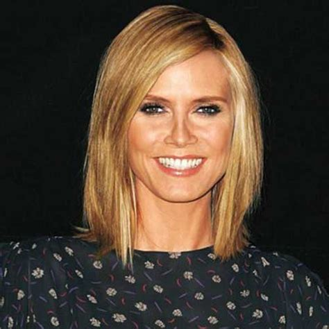 what colour is heidi klum s hair 15 best heidi klum bob haircuts bob hairstyles 2017