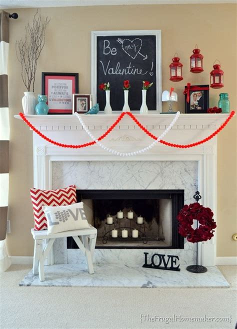 valentines mantel cool valentine s day mantel d 233 cor ideas family