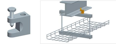 Ceiling Cable Tray Ceiling Mounting Solutions For Wire Mesh Cable Trays Bonet Cable Tray