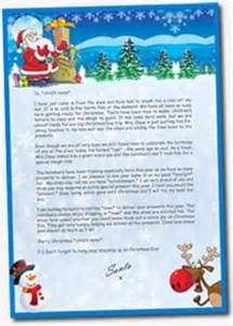 Charity Letter From Father Christmas my santa letter view letters