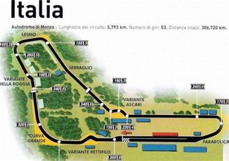 ingressi autodromo monza caratteristiche circuito di monza gp d italia di f1