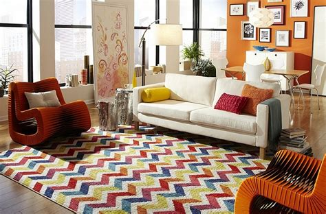 Chevron Rug Living Room chevron pattern ideas for living rooms rugs drapes and