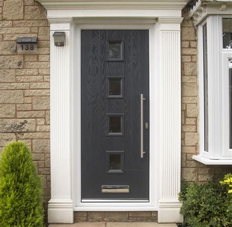 Composit Front Doors Composite Glazed Front Doors Safestyle Uk