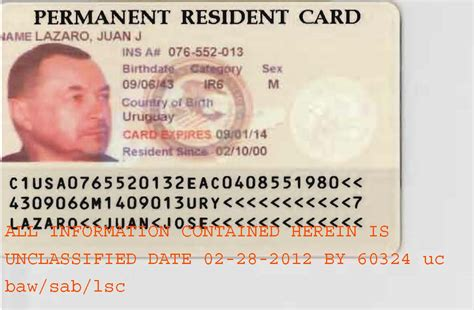resident green card template permanent resident card sle electrical schematic