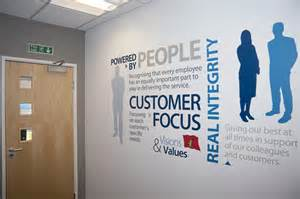 office wall design corporate values office wall word cluster vinyl foil re