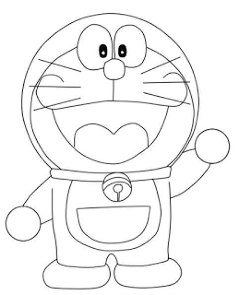 tutorial gambar kartun doraemon cara mudah menggambar kartun doraemon dengan pensil