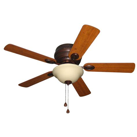 harbor ceiling fan with light shop harbor mayfield 44 in antique bronze flush