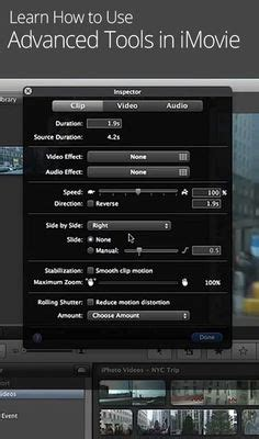 tutorial to use imovie pinterest the world s catalog of ideas