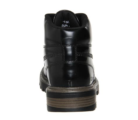 Kickers Boot Black Leather kickers stargent boots black leather boots
