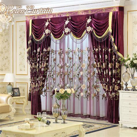 european draperies aliexpress com buy helen curtain new luxury curtains for