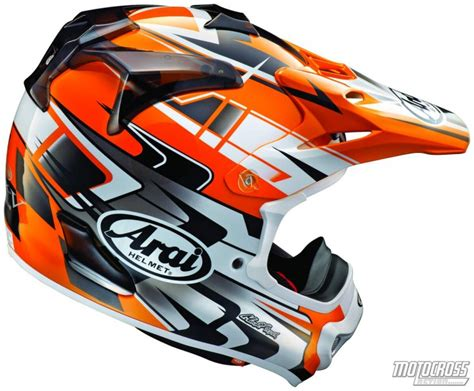arai motocross helmets favorite helmets of the mxa wrecking crew motocross action