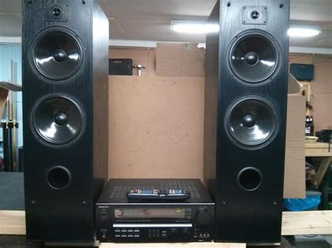 Home Theatre Kenwood kenwood vr 6060 home theater receiver and jbl speakers county pei