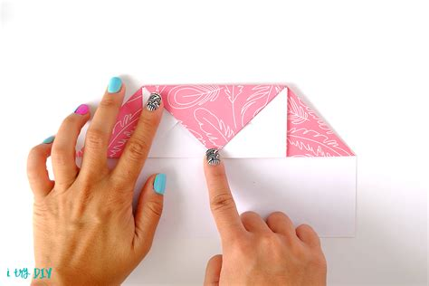 Turn Your Letter Into It S Own Envelope - how to fold a letter into its own envelope i try diy