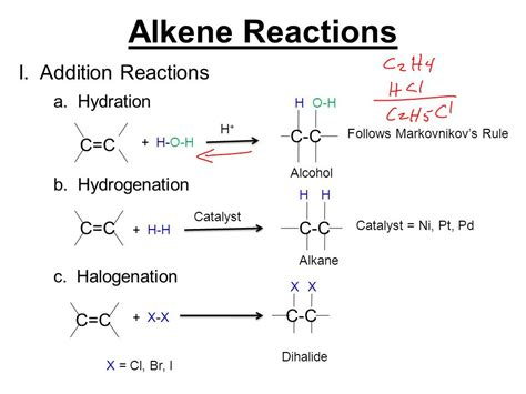 hydration alkene alkenes and alkynes chapter 3 ppt