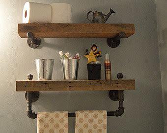 reclaimed wood shelf etsy
