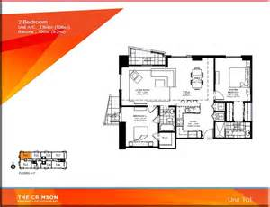 Condo Floor Plan by Crimson Miami Condo Floor Plans
