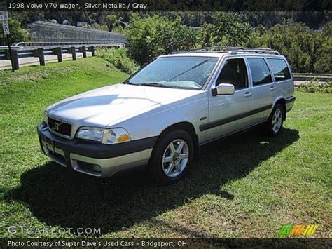 1998 volvo v70 wagon silver metallic 1998 volvo v70 wagon gray interior