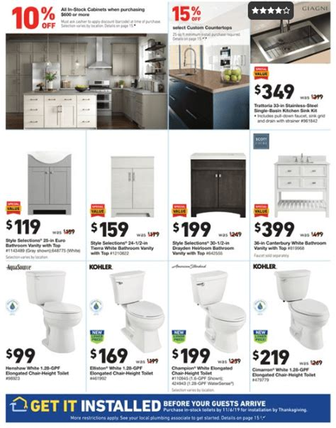 lowes weekly ad oct  oct