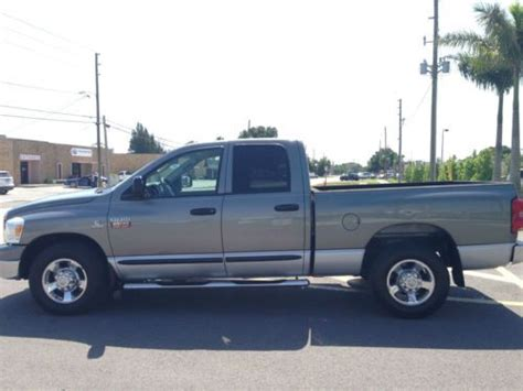 electric and cars manual 2007 dodge ram 2500 security system buy used 2007 dodge ram 2500 slt big horn quad cab 6 7 cummins turbo diesel manual in saint
