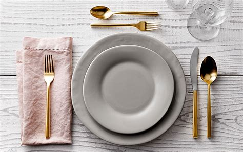 set the table how to set the table for any occasion pottery barn
