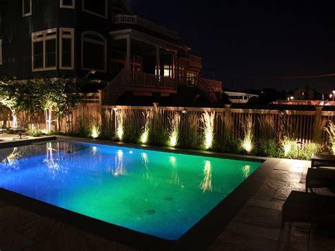 outdoor pool lighting pool lighting morgan k landscapes