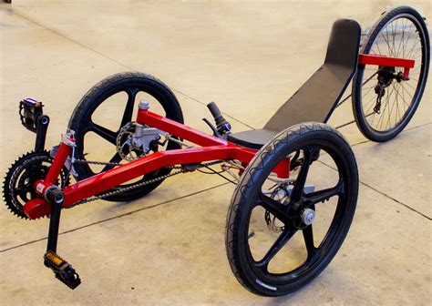 warrior recumbent tadpole trike in greece atomic