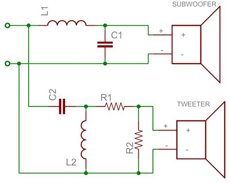 parallel capacitors crossover series parallel speaker wiring 8 drivers series free engine image for user manual