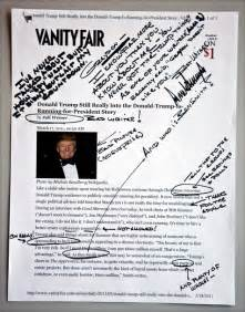 Vanity Fair Sparknotes Donald Handwriting Analysis