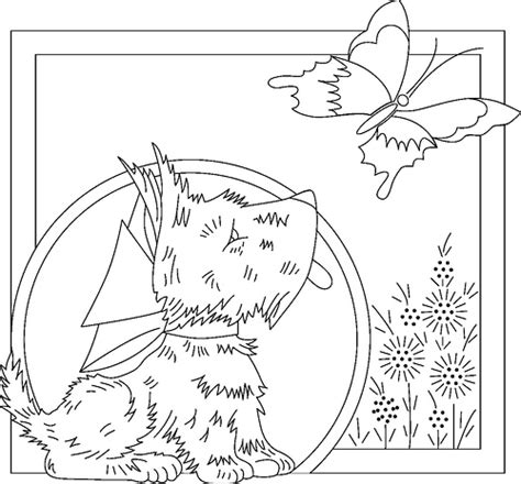 black and white embroidery patterns scottydog playingwithbrushes flickr