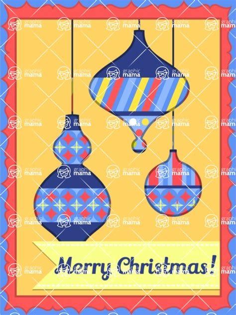 christmas card vector graphics maker design bundle merry christmas card  toys graphicmama