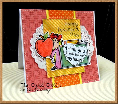 Teachers Day Card Handmade - teachers day cards greeting cards 2016 collection