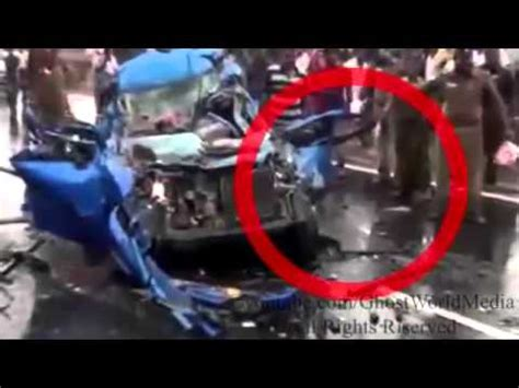 real ghost caught on tape after fatal car crash accident