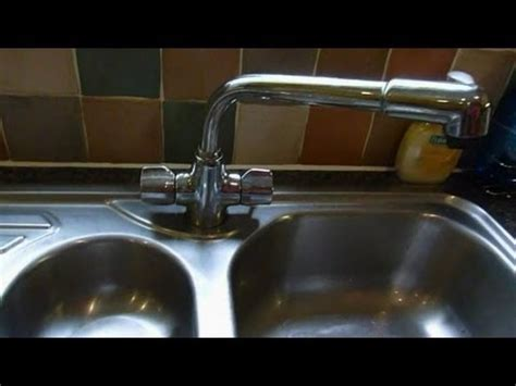 How to change mixer taps.(monoblock mixers) .Kitchen taps