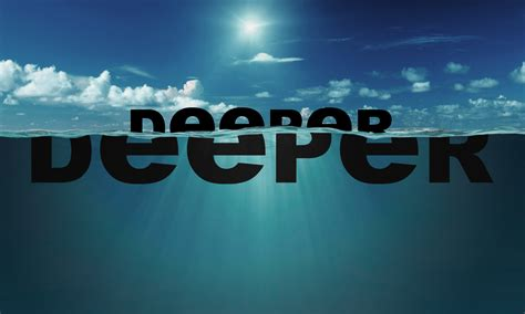 Deeper And Deeper deeper cleaning your