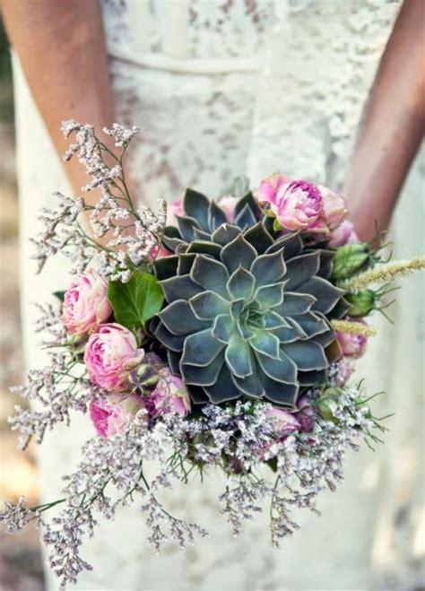 Wedding Bouquets Using Succulents by 75 Succulent Wedding Bouquets Happywedd