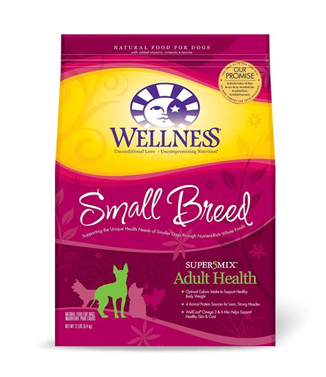 wellness food wellness super5mix food small breed health recipe 12 pound bag ebay