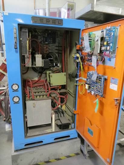lepel induction heating generator lepel 75kw induction heater mohr corporation